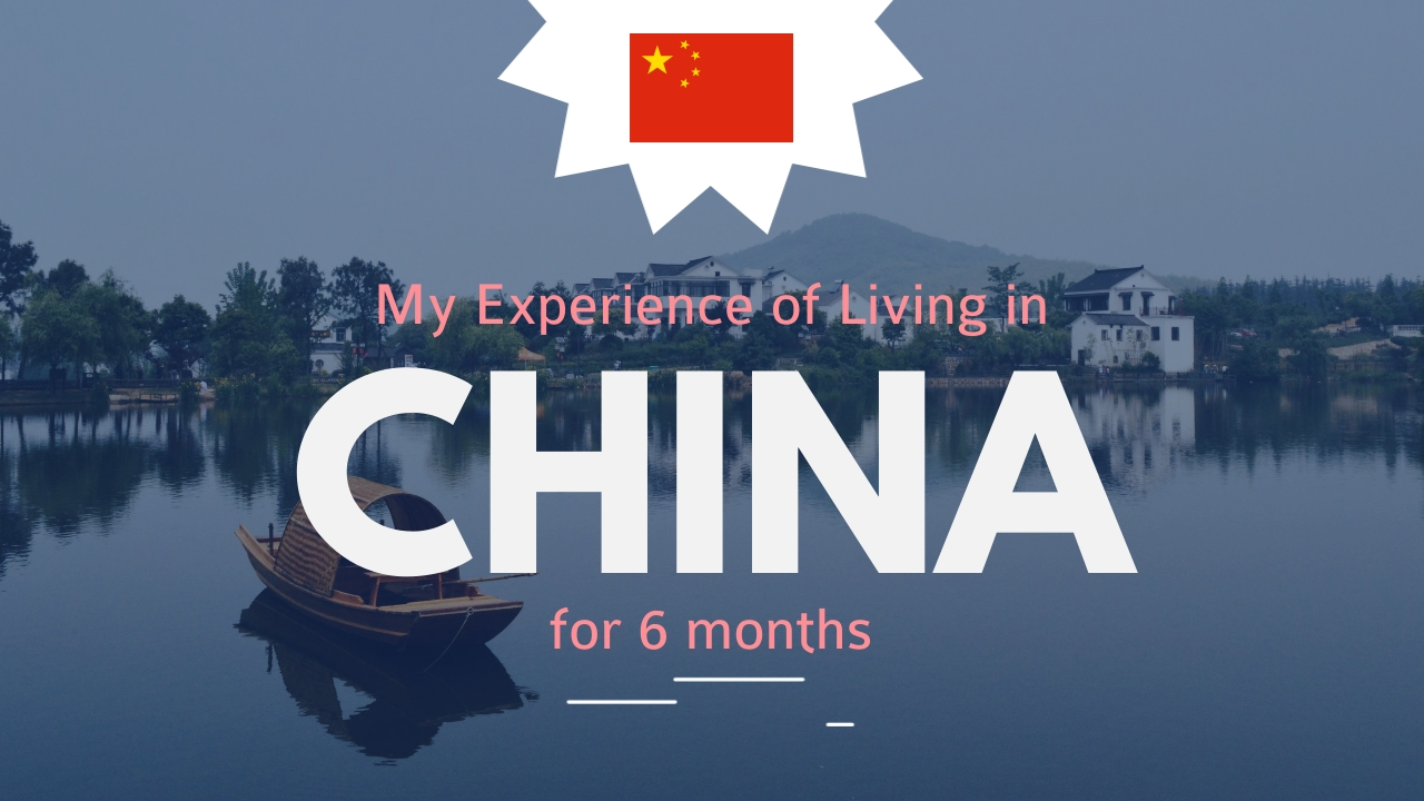 Living in China Experience Youtube Thumbnail Template