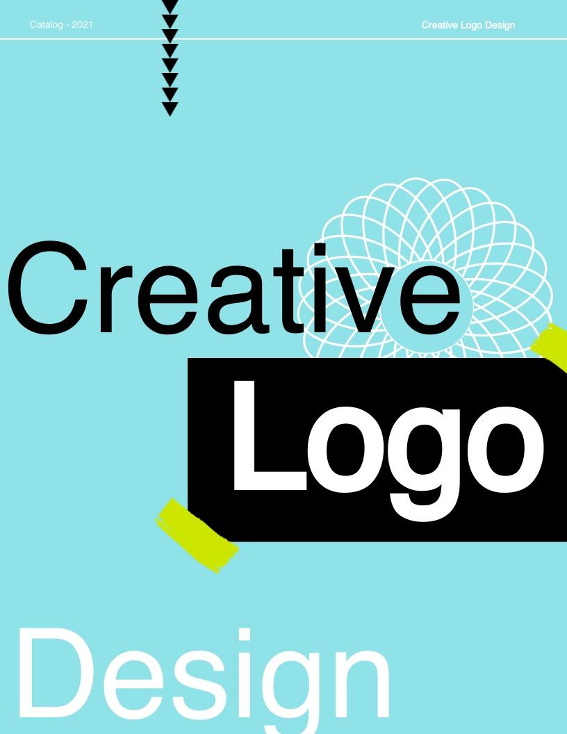 Logo Design Catalog Template