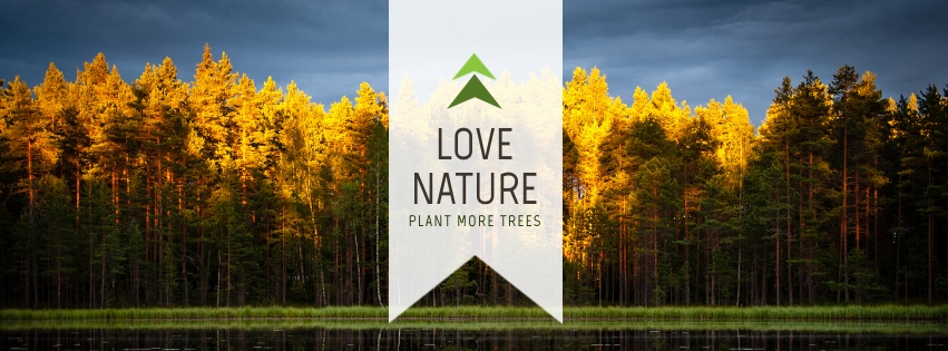 Love Nature Facebook Cover  Template