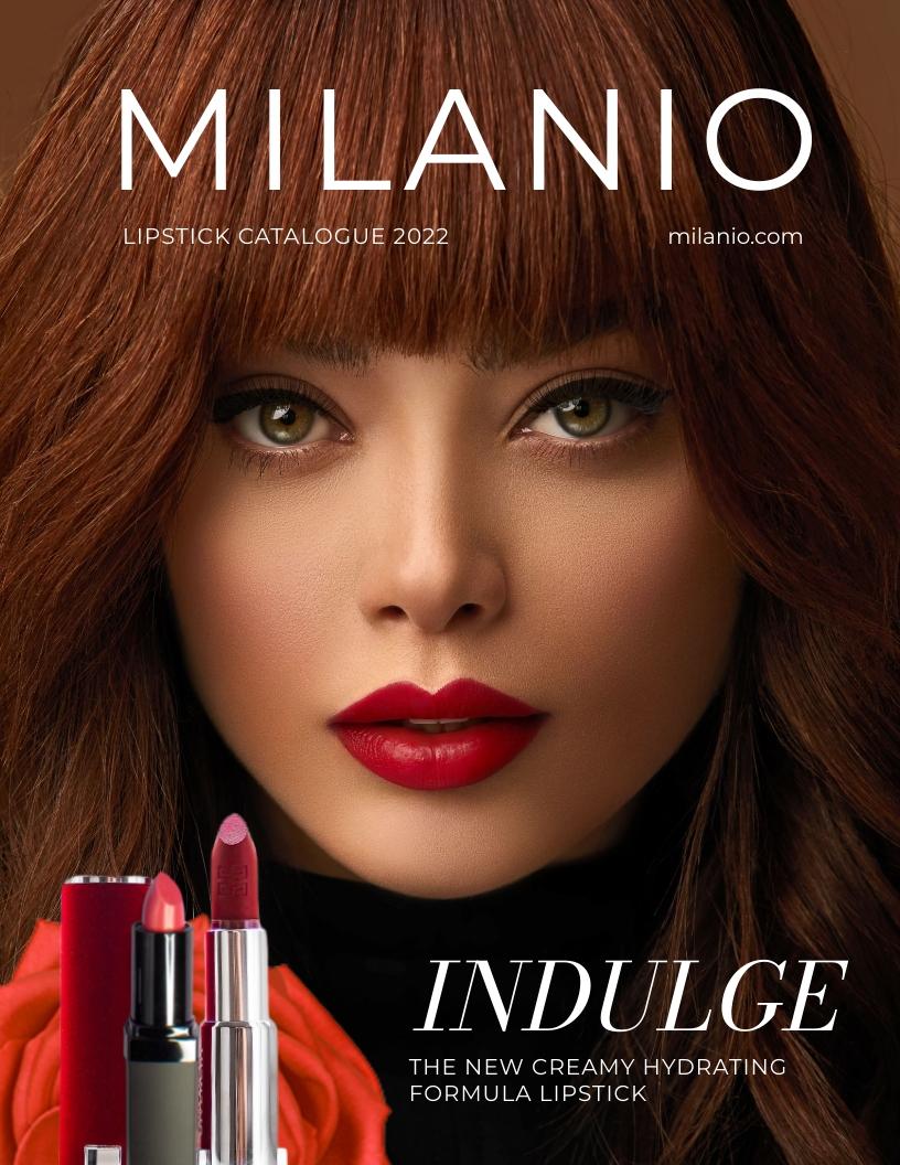 Makeup Catalog Template