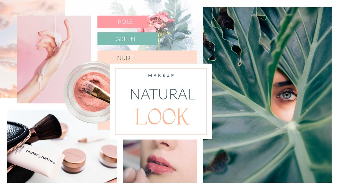 Makeup Moodboard Template