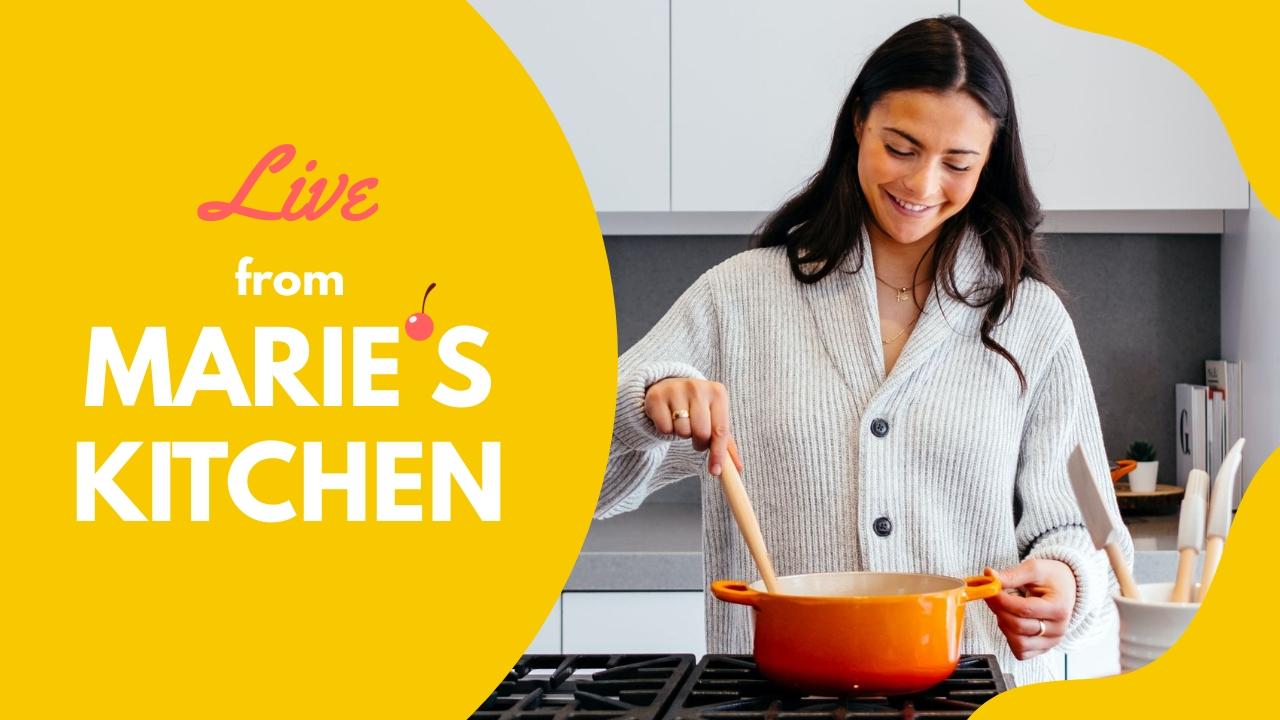 Maries Kitchen Youtube Thumbnail Template