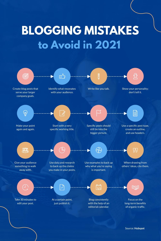 Marketing Infographic Pinterest Post Template