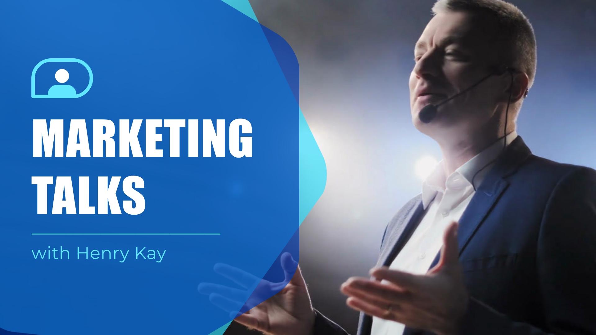 Marketing Talks Intro - Video Template