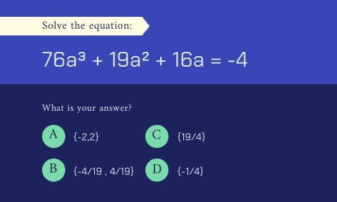 Math Equation Flashcard Template