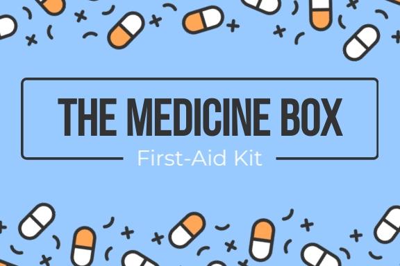 Medicine Box Label Template