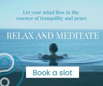 Meditation Large Rectangle Template