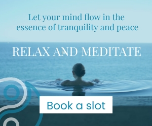 Meditation Medium Rectangle Template