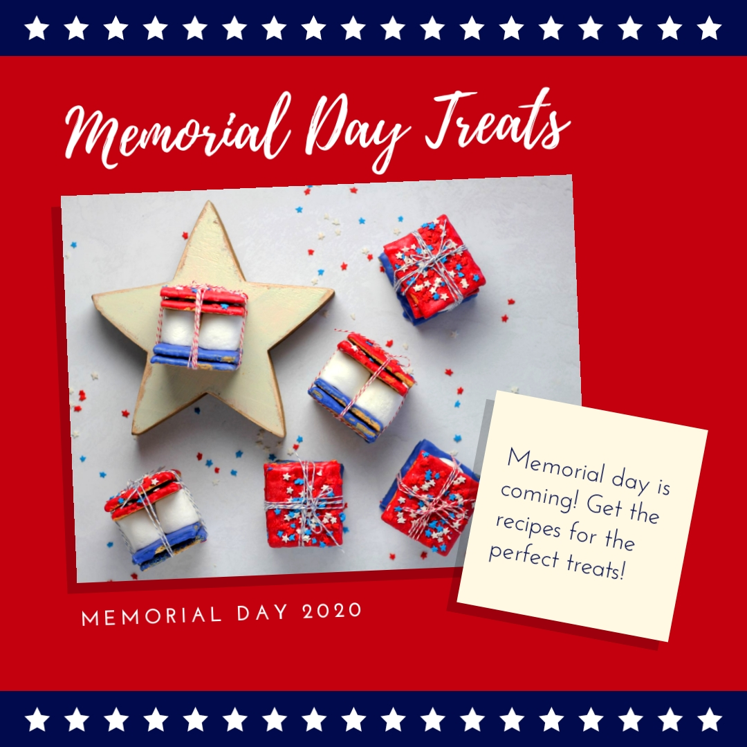 Memorial Day Treats - Instagram Post Template