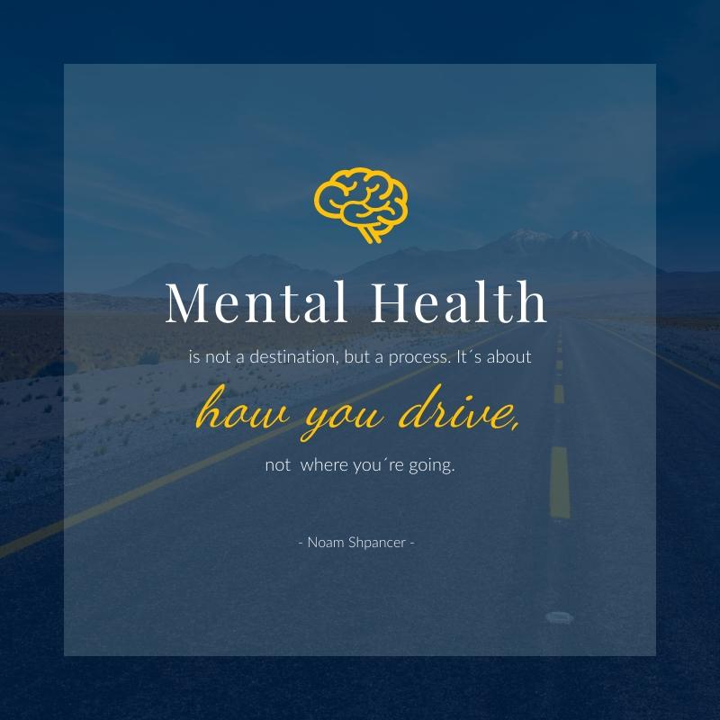 Mental Health Blog Graphic Medium  Template