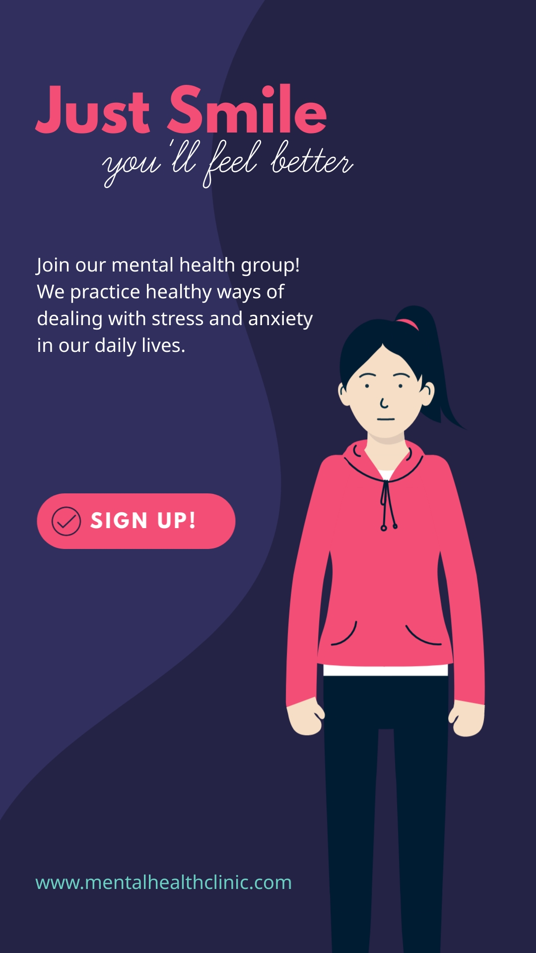 Mental Health Vertical Template
