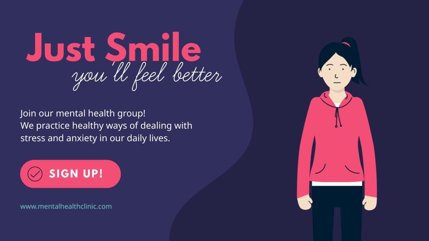 Mental Health - Facebook Ad Template