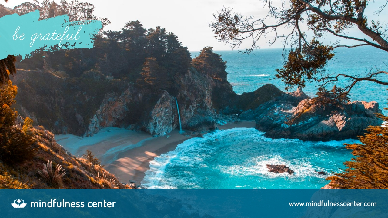 Mindfulness Center - Zoom Background Template