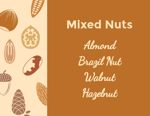 Mixed Nuts - Postcard Template