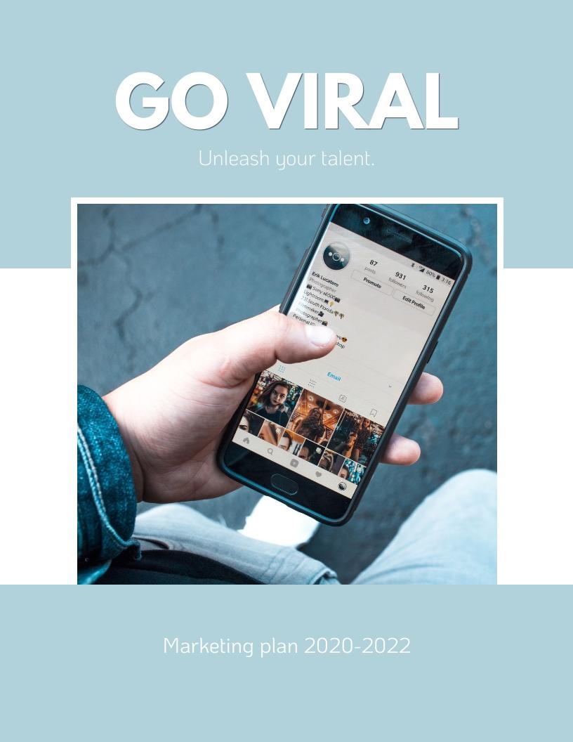 Mobile App - Marketing Plan Template