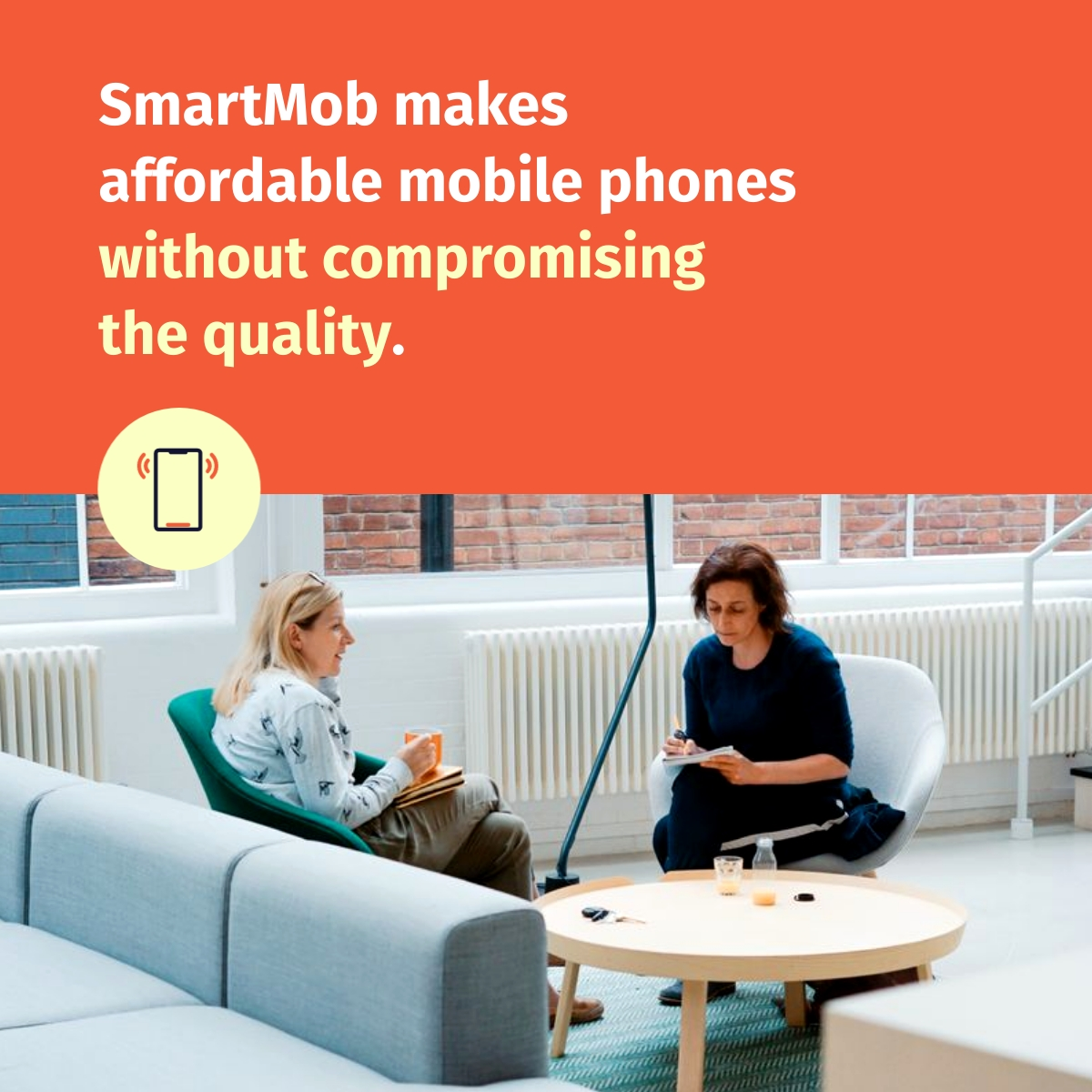 Mobile Phone Company - LinkedIn Post Template