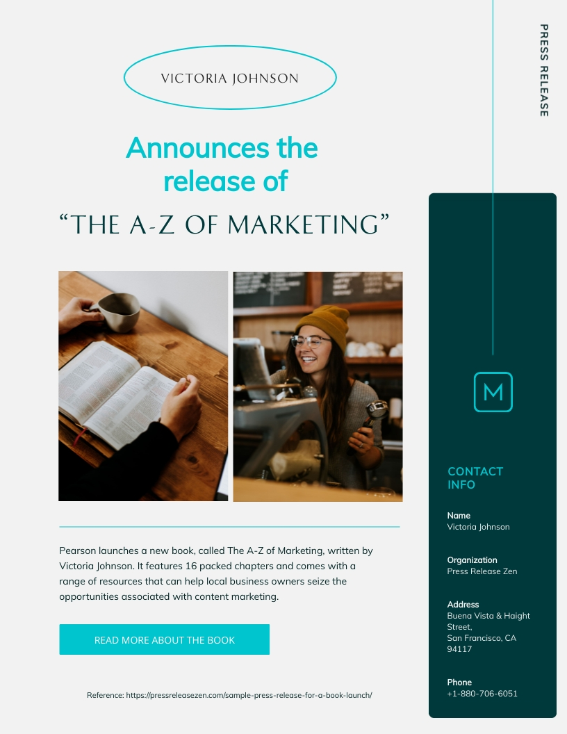 Modern Press Release Template