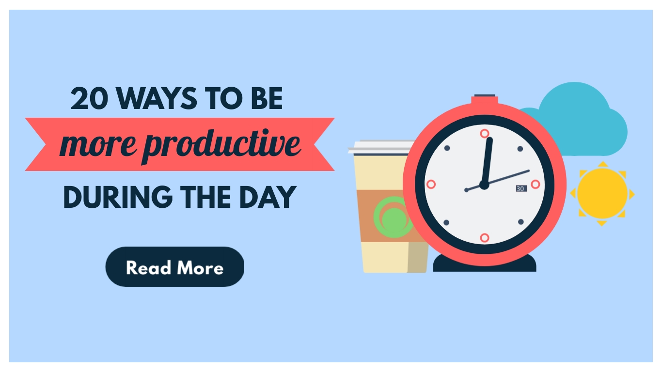 More Productive – Twitter Ad Template