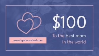 Mothers Day Gift Card Template