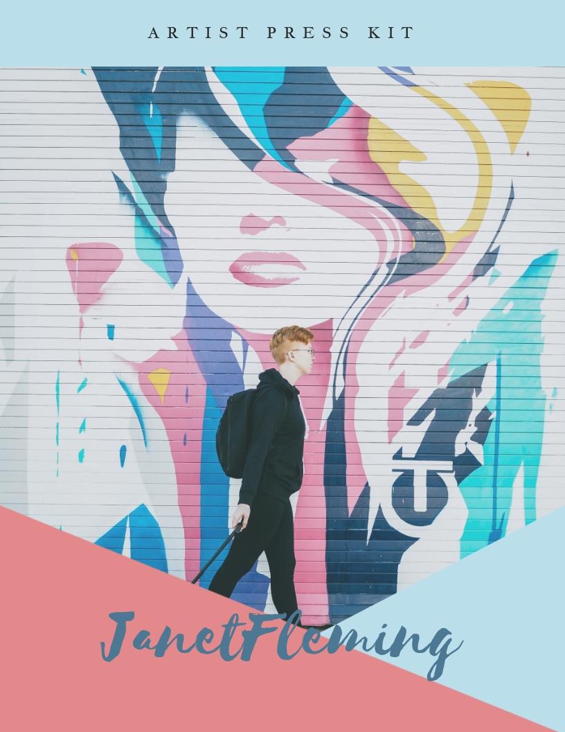 Mural Artist - Press Kit Template