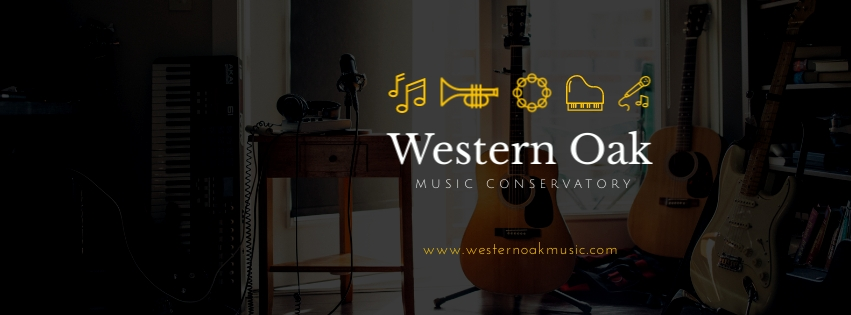 Music Conservatory Facebook Cover Template