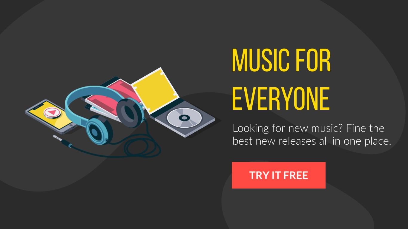 Music for Everyone - Twitter Ad Template