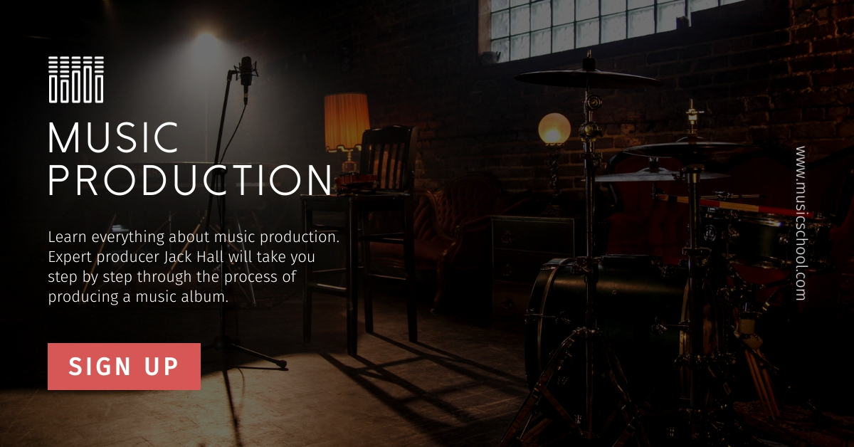 Music Production Class - Facebook Ad Template