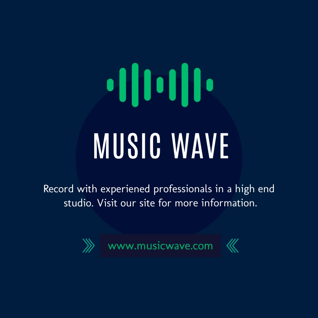 Music Wave - Instagram Post Template