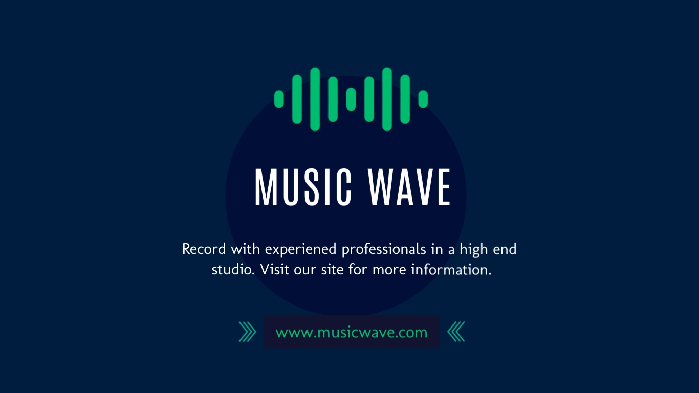 Music Wave - Facebook Ad Template