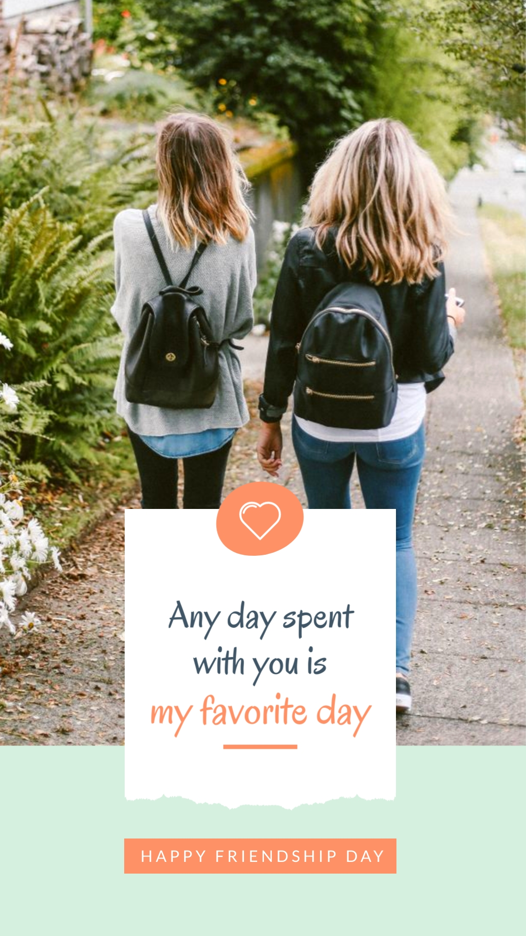 My Favorite Day Animated Vertical Template