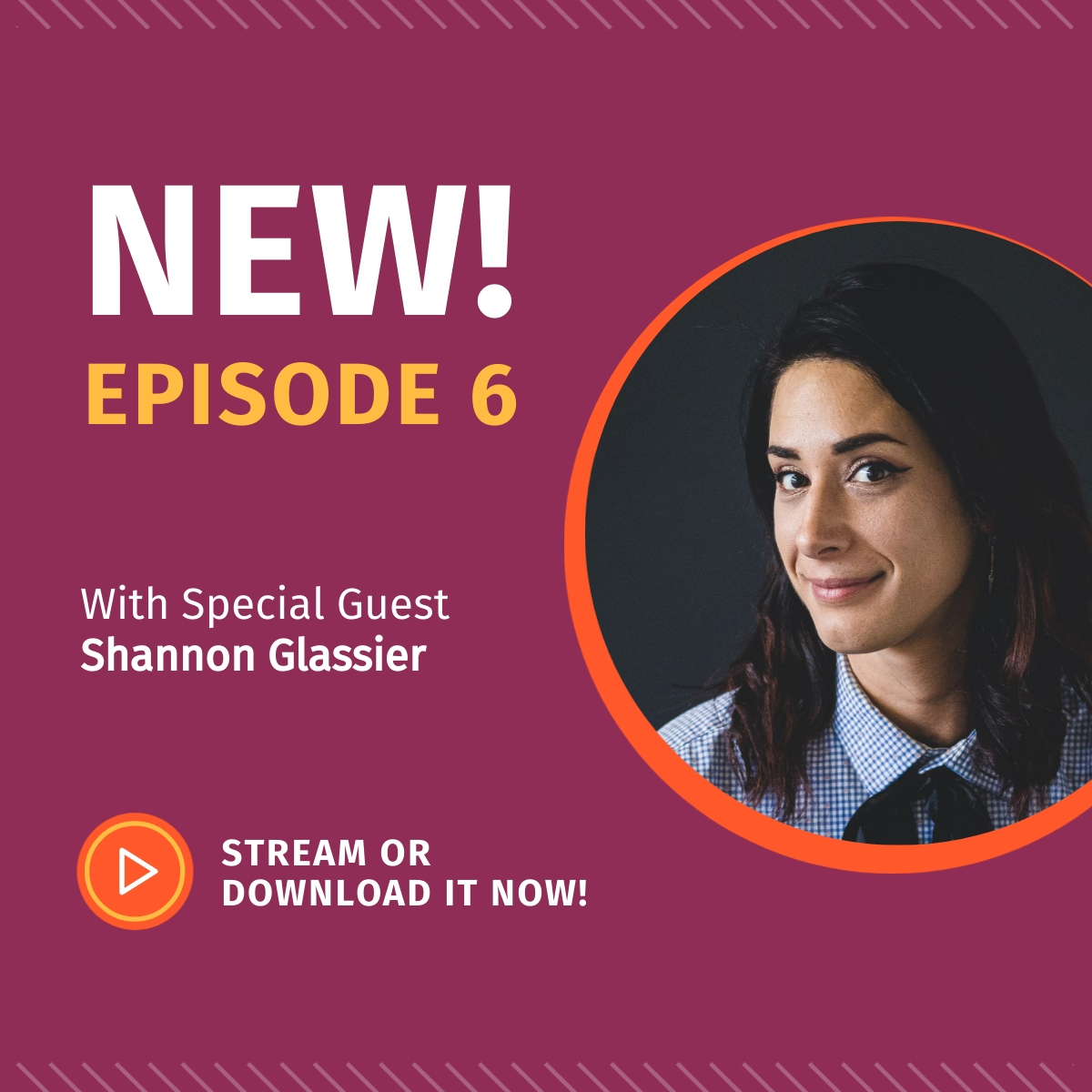 New Podcast Episode - LinkedIn Post Template