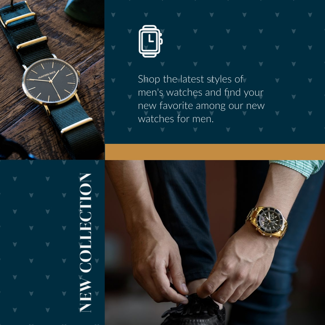 New Watch Collection Animated Square Template