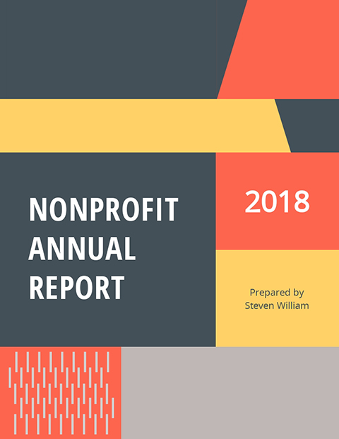 Non-Profit Annual Report Template