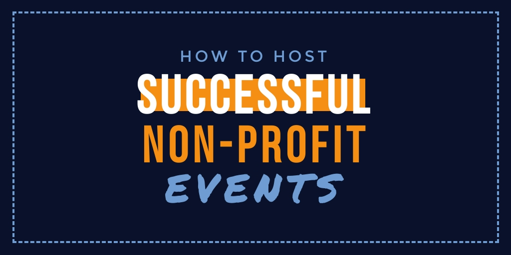 Non Profit Events Twitter Post  Template