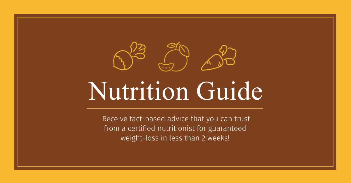 Nutrition Guide - Facebook Ad Template