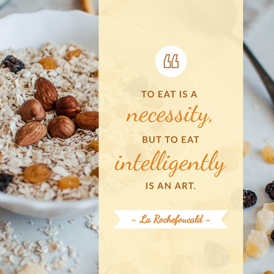 Nutrition Quote Animated Square Template