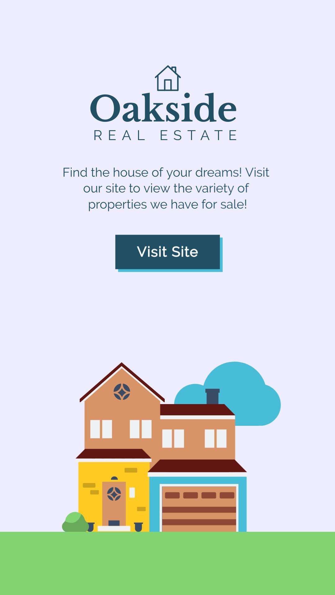 Oakside Real Estate Vertical Template