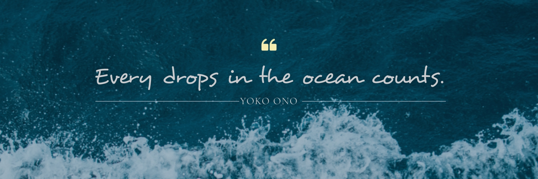 Ocean Quote Twitter Header Template