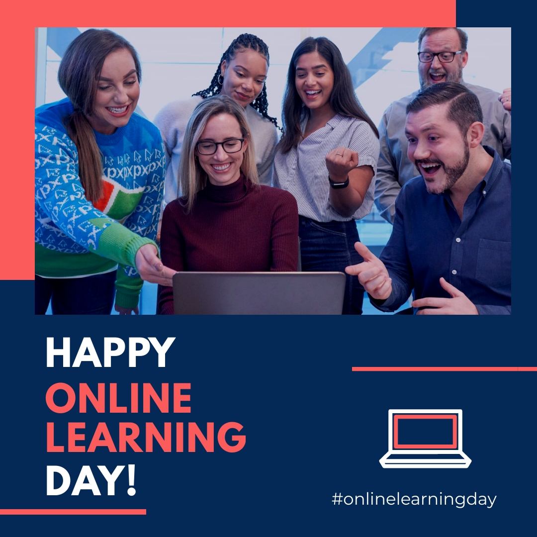 Online Learning Day Animated Square Template