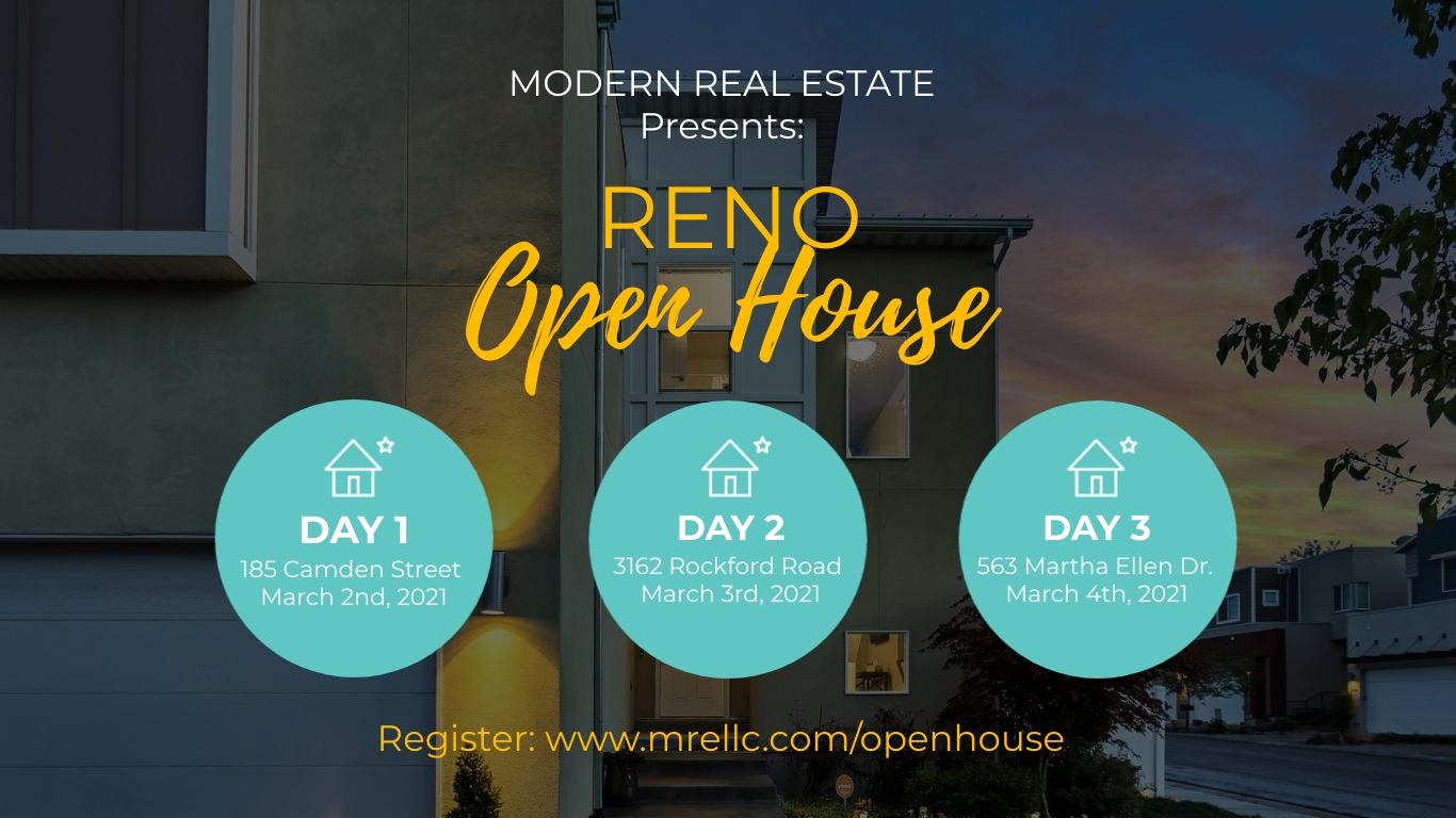 Open House Facebook Event Cover Template