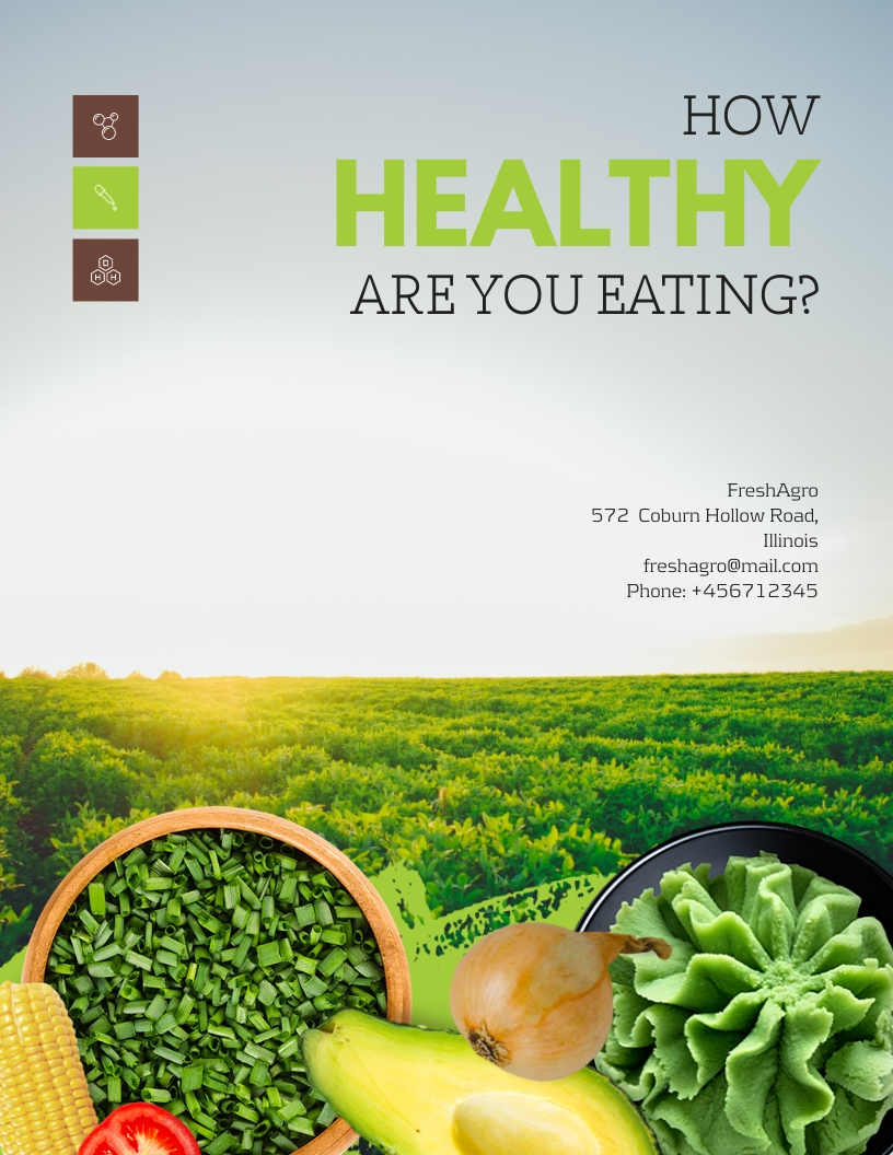 Organic Food - White Paper Template