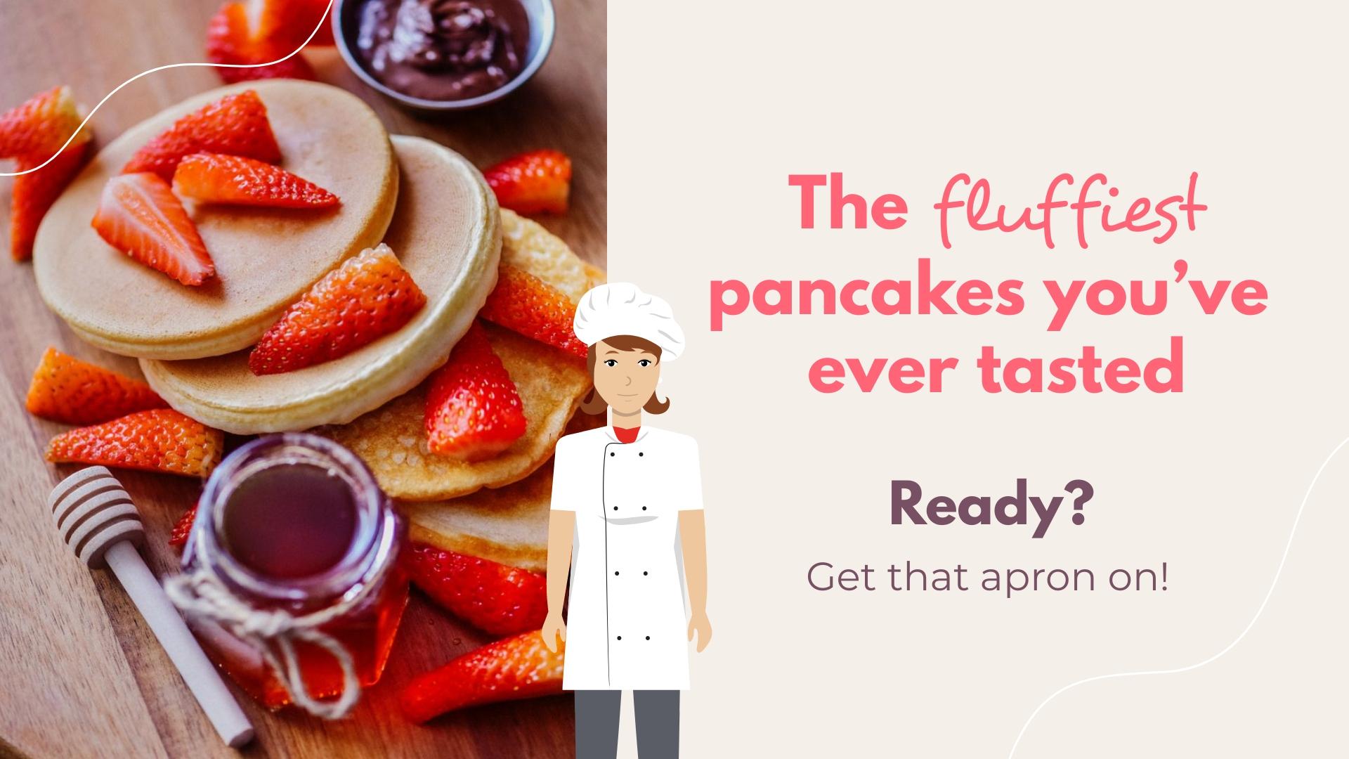 Pancake Recipe Facebook Video Ad Template