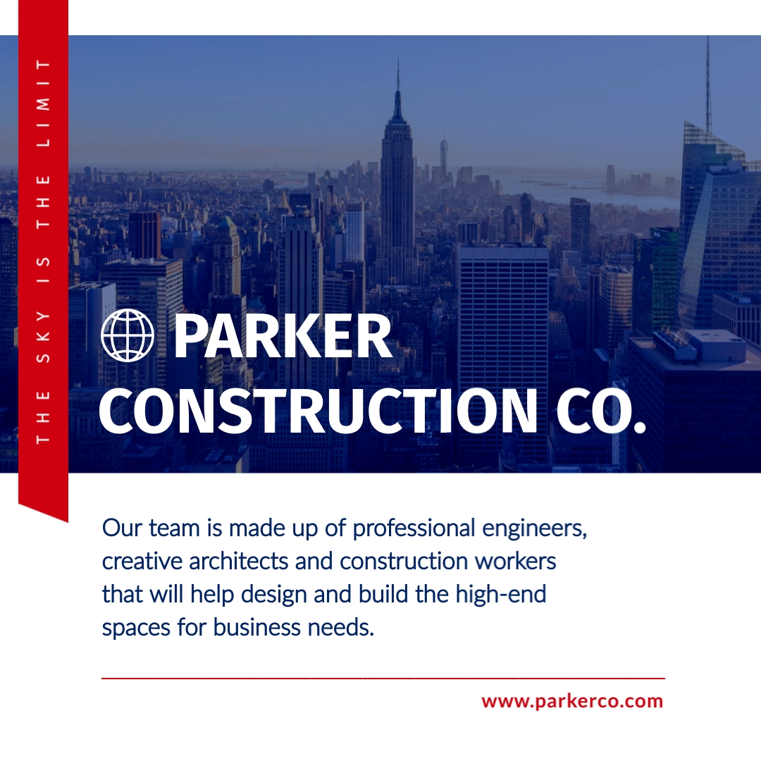 Parker Construction Co Animated Square Template