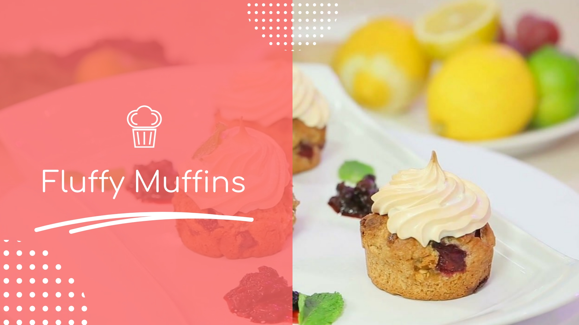 Pastry Shop Product Video Template