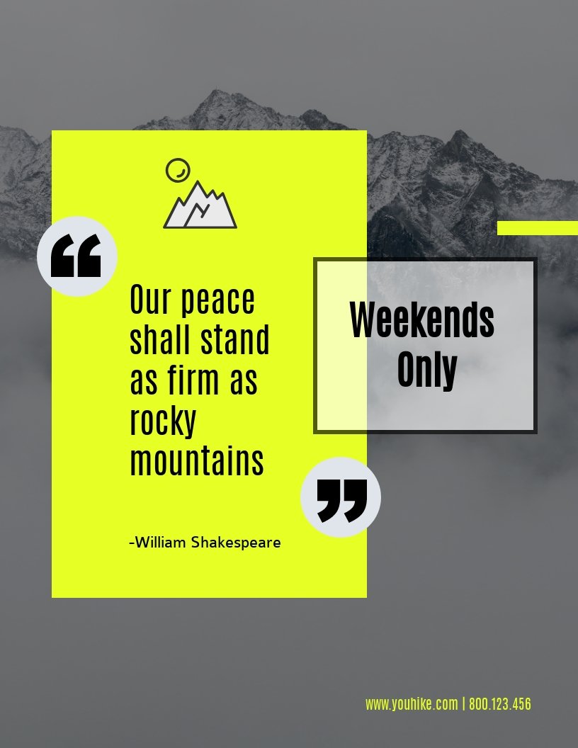 Peace - Flyer Template