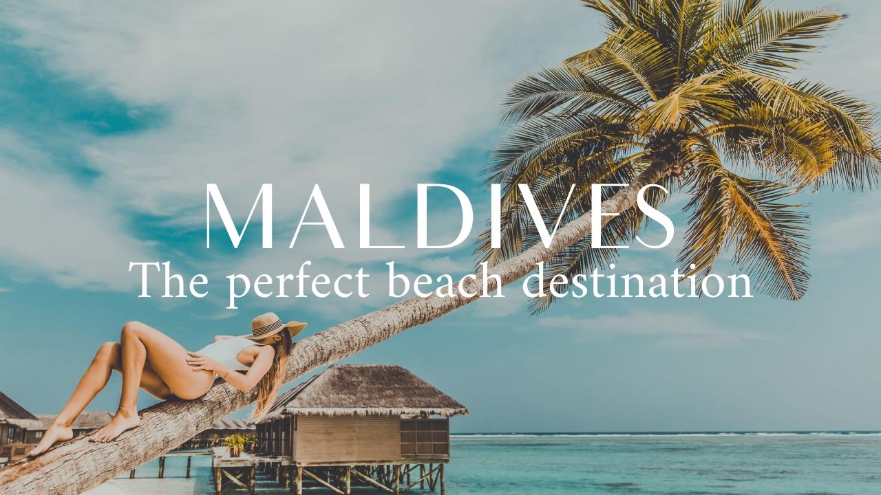 Perfect Beach Destination Youtube Thumbnail Template