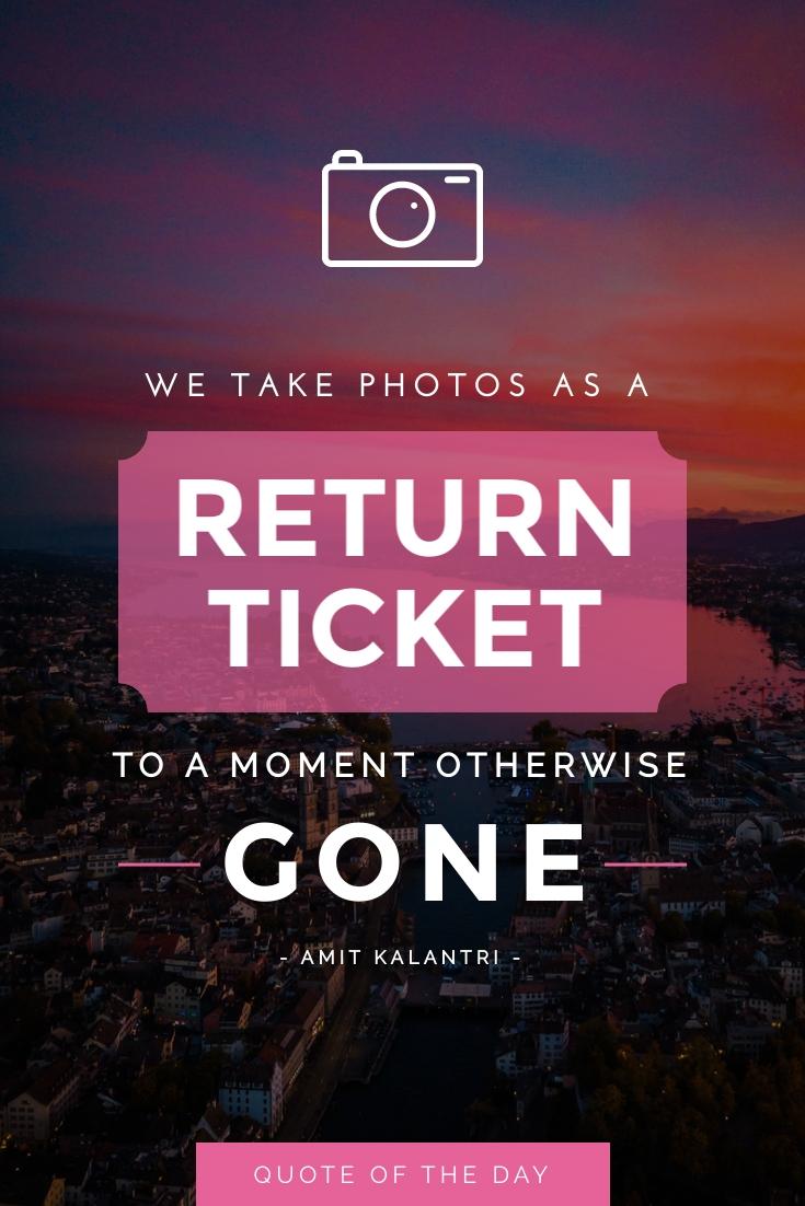 Photograph Pinterest Post  Template