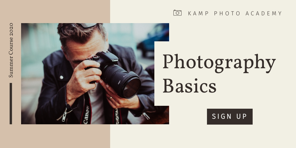 Photography Basics Twitter Ad  Template