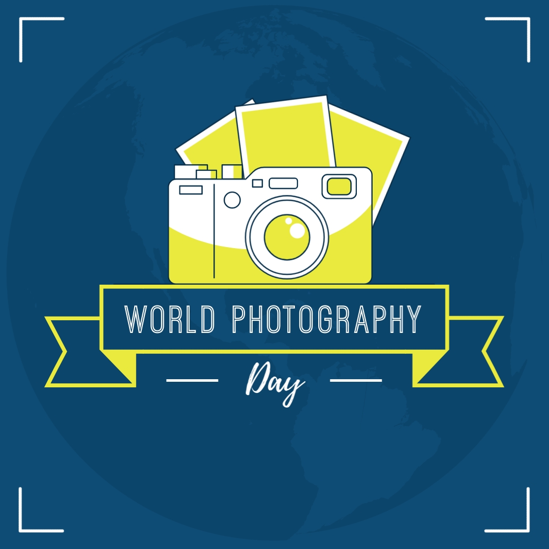 Photography Day Animated Square Template