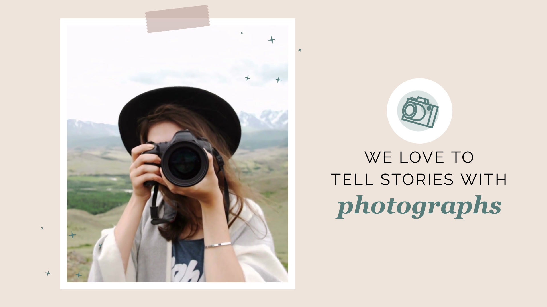 Photography Services Twitter Video Ad Template